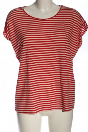 AWARE Stripe Shirt red-natural white allover print casual look