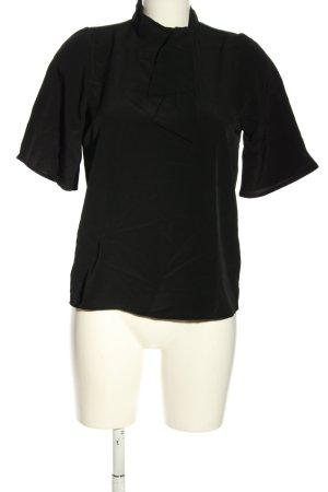AWARE Bluzka z kokardą czarny W stylu casual