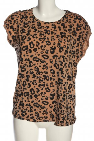AWARE T-Shirt nude-black leopard pattern casual look