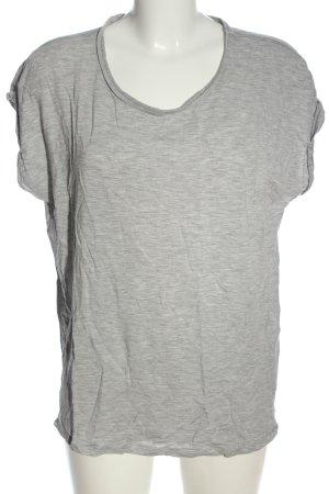 AWARE T-Shirt light grey flecked casual look