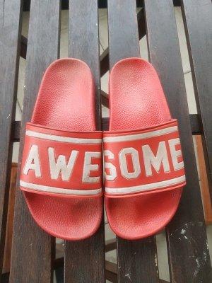 Awesome Flip-Flops / Badschuhe / Pantolette von The White Brand