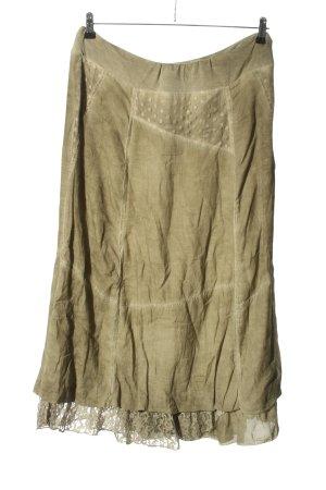 awg Midi Skirt khaki casual look