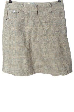 AWG Mode Center Ołówkowa spódnica Wzór w kratkę W stylu casual