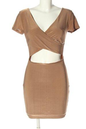 AX Cut Out Dress brown elegant