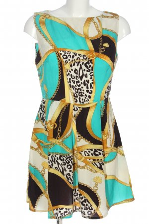 AX Mini Dress allover print extravagant style