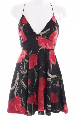 AX Paris Robe trapèze motif de fleur