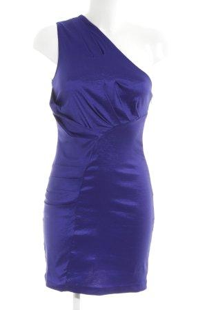 AX Paris Robe de soirée bleu style festif