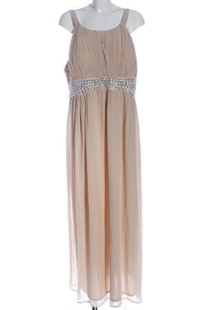 AX Paris Suknia balowa nude Elegancki