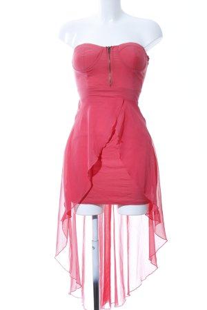 AX Paris Robe bandeau rouge style extravagant