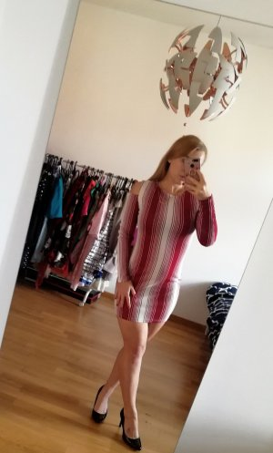 Ax Paris Bodycon Kleid 38/M gestreift