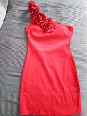 AX Paris Robe épaules nues rouge-rouge brique