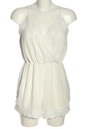 AX Paris Kombinezon biały W stylu casual