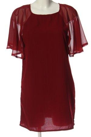 AX Paris Sukienka z krótkim rękawem czerwony Elegancki