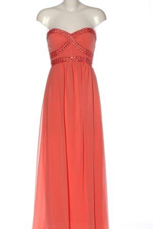 AX Paris Vestido largo naranja claro elegante
