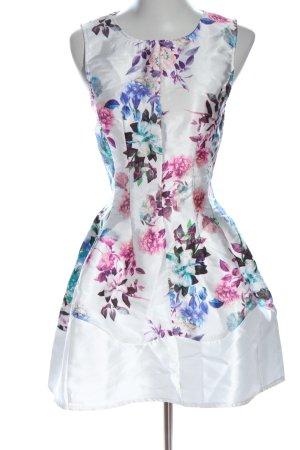 AX Paris Robe courte motif de fleur élégant