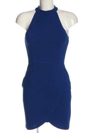 AX Paris Halter Dress blue allover print casual look