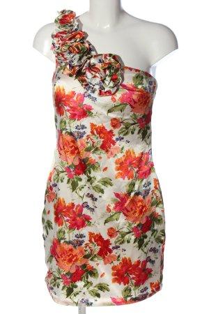 AX Paris Sukienka na jedno ramię Na całej powierzchni W stylu casual