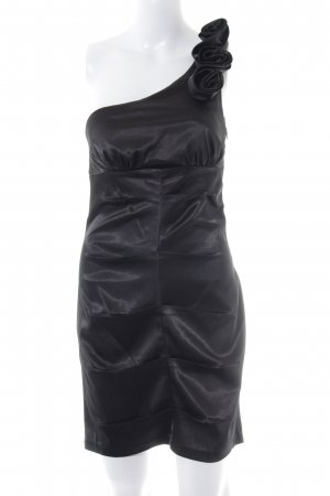 AX Paris One-Shoulder-Kleid schwarz Elegant