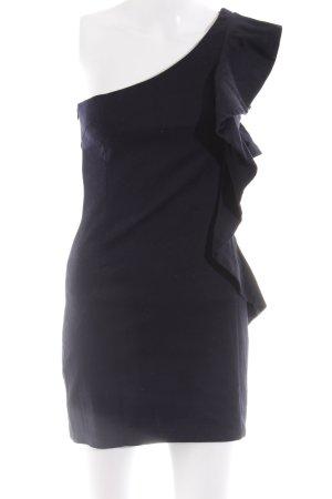 AX Paris Haut avec une épaule dénudée bleu élégant