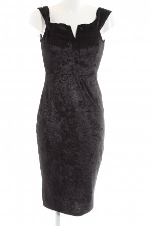 AX Paris schulterfreies Kleid schwarz Business-Look