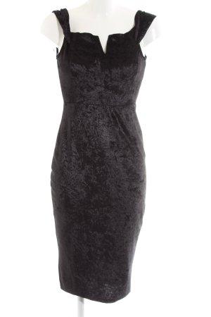 AX Paris Robe épaules nues noir style d'affaires