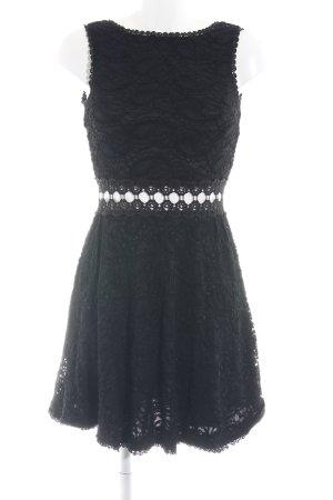 AX Paris Robe en dentelle noir élégant