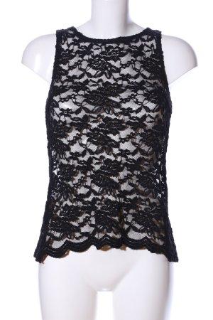 AX Paris Spitzentop schwarz Elegant