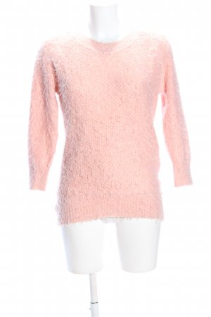 AX Paris Strickpullover pink Casual-Look