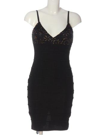 AX Paris Sukienka na ramiączkach czarny Wzór w kwiaty Imprezowy wygląd