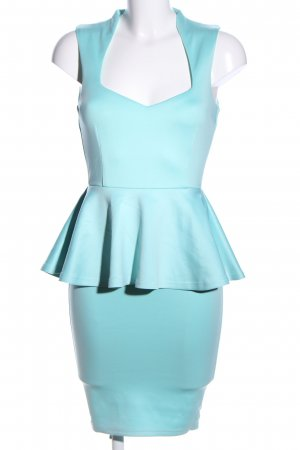 AX Paris Volante jurk turkoois elegant