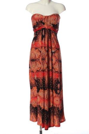AX schulterfreies Kleid