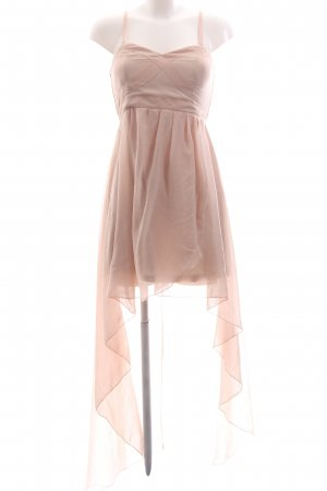 AX High Low Dress nude elegant