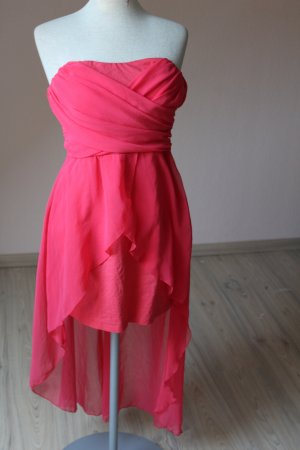 AX High Low Dress red-bright red