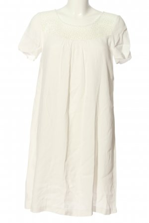 Axara Paris A Line Dress white casual look