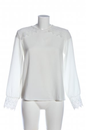 Axara Paris Long Sleeve Blouse white casual look