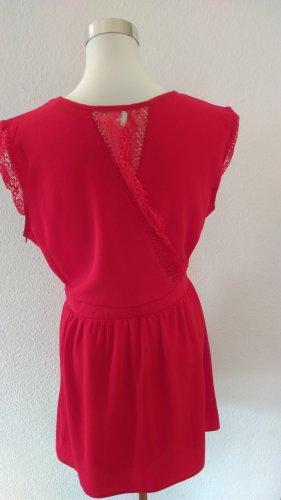 AXARA Paris Sommer Kleid - Gr. M in einem schönen Rot NEU