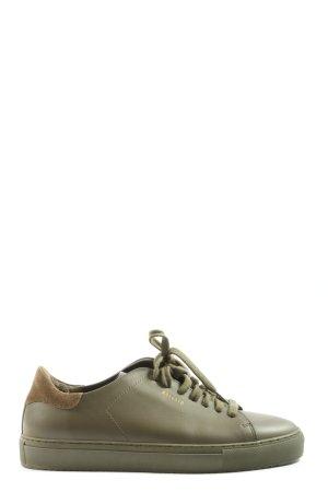 Axel Arigato Sneakers met veters khaki casual uitstraling