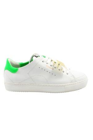Axel Arigato Sneakers met veters wit-groen casual uitstraling