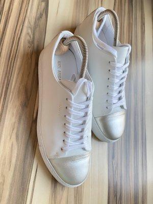 Axel Arigato Sneakers met veters wit-zilver Leer