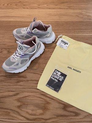 Axel Arigato Sneakers met veters licht beige-zilver