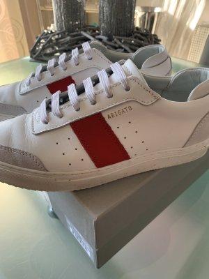 Axel Arigato Sneakers met veters wit-rood Leer