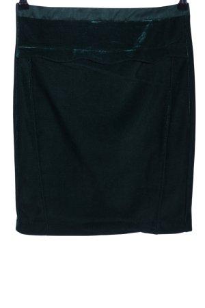 Axel Ołówkowa spódnica zielony Na całej powierzchni W stylu casual
