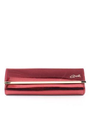 Axel Borsa clutch rosso-oro elegante