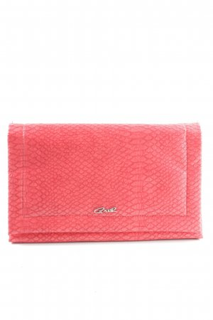 Axel Clutch rot Animalmuster Elegant