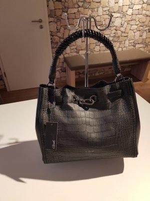 Axel Shoulder Bag black imitation leather