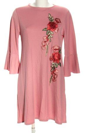Ayanapa Blusenkleid Blumenmuster Casual-Look