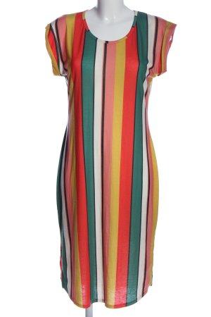 Ayanapa Shortsleeve Dress striped pattern casual look