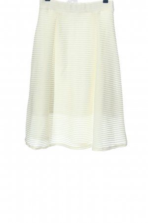 Ayanapa Midi Skirt white striped pattern casual look