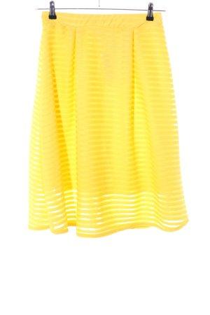 Ayanapa Midi Skirt primrose striped pattern elegant