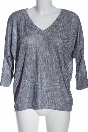 Ayanapa Slip-over Blouse light grey flecked casual look
